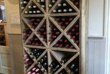 wijn opbergers