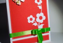 Flowers cards by Karuna Handmade