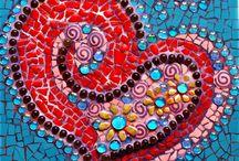 mosaic art / by Vada Wetzel