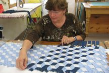 Quilting - weaving