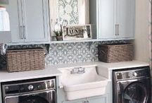 Inspired Laundry Rooms