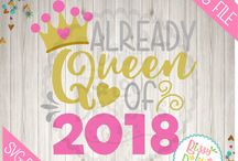 New Years SVG designs