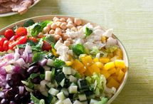 salads / by Cindy Alkhafagi