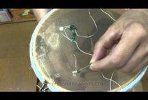 bordado de aguja para pedrería (oyasi)