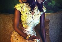 african dresses / by mica mica