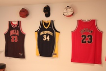 Sports Jersey Display / Affordable alternative to jersey frames and cases.