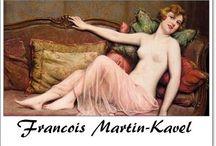 ⊱ Francois Martin-Kavel ⊰  /  ≻ Francois Martin-Kavel ~ Paris, 1861 - 1931 ≺