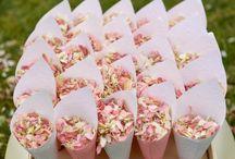 Romantic Pastels / Soft pastel colours for a romantic wedding! Think rose quartz, powder blue, lilac, dove grey, pearl white, mint, sage etc...