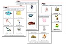 Preschool Printables / by Jeannette Coffey