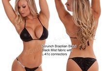 Scrunch Bikinis / Scrunch Bottom Bikinis and Swimsuits, including Scrunch Butterfly Bikinis, Scrunch Brazilian Bikinis. Great styles for bikini competitions, swimwear photo shoots and the beach! / by Suits You Swimwear
