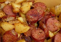 sausage recipes / by Trish K.