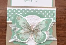 Stampin' Up! - Watercolor Wings / by Kim Miller