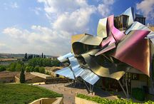 Frank Gehry / new baroque style, sense of dynamic