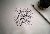Calligraphy & Type