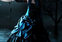 Gothic fashion / Вдохновляющие платья и другая одежда для изысканных готесс.