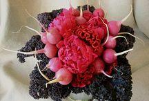 Inspiratie bloemwerk / Creatieve ideën met bloemen.