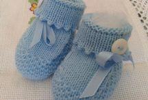 salete alipradini / sobre trico sapatinhos com receita de bebe
