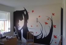 Art - murals / by Amber Whitmore