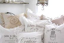 pillows shabby