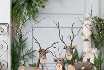 drevo dekorácie