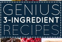 3 ingredient recipe list