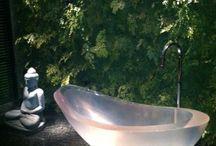 Lavabos e banheiros de luxo