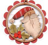 Christmas Decorations by Theodora Cleave / Barb Smith designs & other Christmas ideas