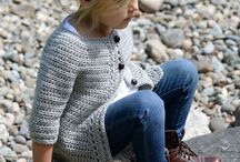 strikket jakker/ luer div