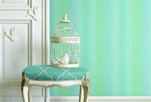 Jaima Brown / Обои от английского дизайнера Jaima Brown - оригинальные, яркие, радостные, стильные. JB is a colorful, vivid, very elegant design wallpapers.