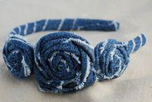 headbands and flowers