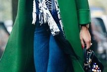 green coats