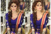 Hair for Mehndi