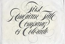 Caligrafia inglesa - copperplate-Spencerian
