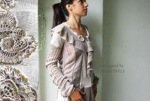 Freeform / Freeform crochet,Reconstructed,refashon