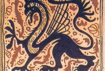 dragones ceramica