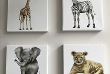 Paintings for little people
