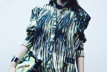 S/S14 Trends: Palm Prints / Collection of Hawaiian inspired catwalk looks for S/S14