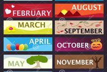 Months  **Maanden**