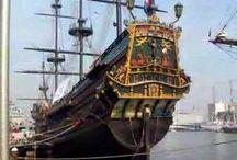 Boten = Sail Amsterdam