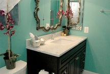 Bathroom update / Bathroom update for my new apartment. White walls.  / by Sorell Long