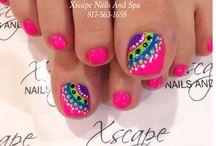 nail & toe designs