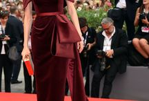 Jewel Toned Red Carpet Style / Amazing red carpet style in bold bright colours.