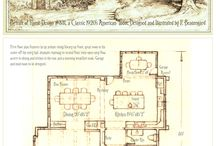 House portrait and plan