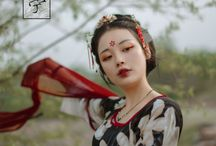 beautiful chinese portraits / traditional