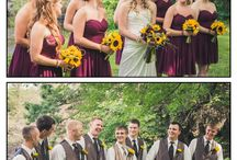 Wedding colors both sides