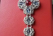 Chainmaille pendants