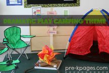 PRE-K DRAMATIC PLAY/ROOM AREAS / by Tommie Brewer Childress