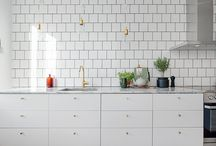 INTERIORS | white interiors