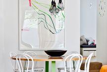 Mesa interior / Opciones para la mesa del comedor
