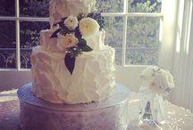 White Cakes / All White Wedding Cakes
